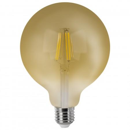 Bombilla LED Vintage Globo con Filamento 6W E27 12cm