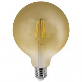 Bombilla LED Vintage Globo con Filamento 6W E27 8cm