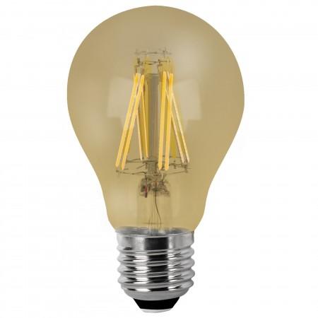 Bombilla LED Vintage Esférica con Filamento 6W E27 6cm