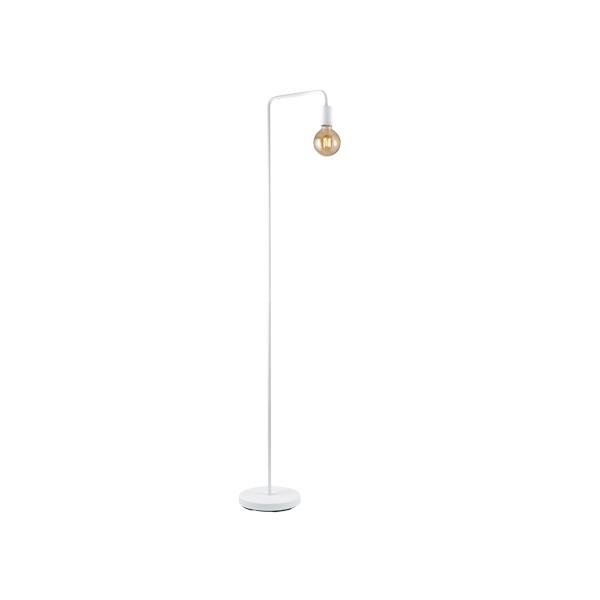Lámpara de Pie Trio Diallo Blanco 149cm 1 Bombilla E27