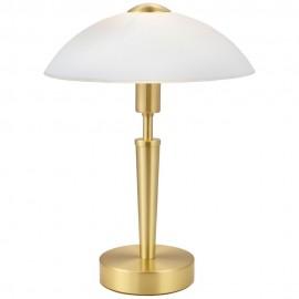 Lámpara de Sobremesa Eglo Solo 1 Latón con Regulador 1 Bombilla E14
