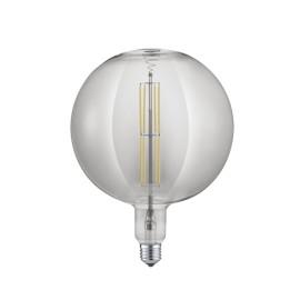 Bombilla LED Filamento Trio Globe Regulable Cristal Fumé 8W