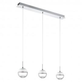 Lámpara Colgante LED Eglo Montefio 1 Cromo Luz Cálida 15W
