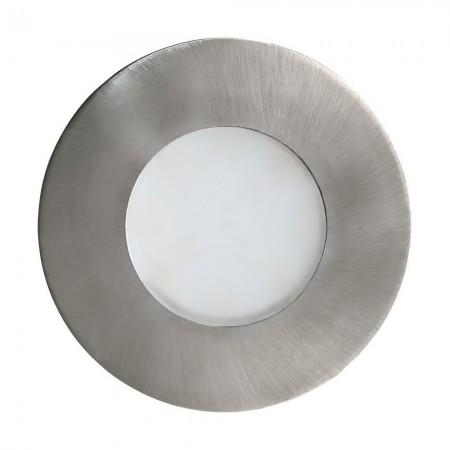 Lámpara Empotrable de Suelo Exterior Eglo Margo Níquel Mate 1 Bombilla GU10