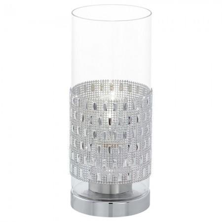 Lámpara de Sobremesa Eglo Torvisco Cromo 1 Bombilla E27