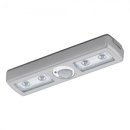 Luz de Noche LED Eglo Baliola Plata Luz Cálida 1W