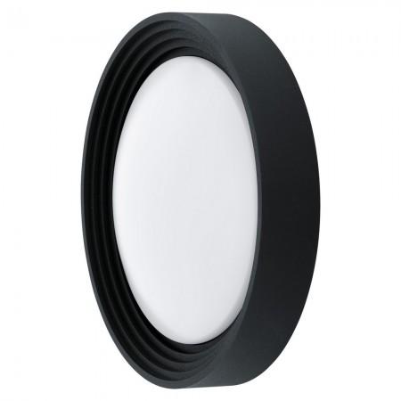 Lámpara de Exterior para Pared o Techo LED Eglo Ontaneda Negro Luz Cálida 8W