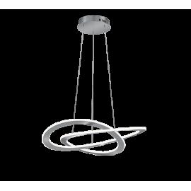 Lámpara Colgante LED Eglo Miraflores Dorado Luz Cálida 17W