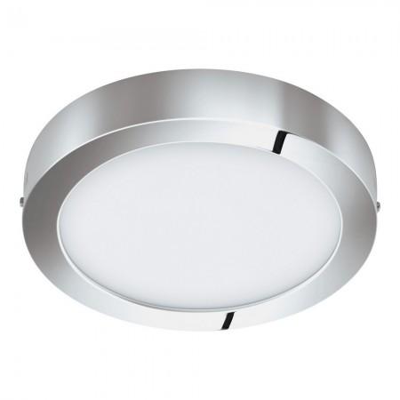 Downlight Superficie LED Eglo Fueva 1 Cromo Luz Cálida 22W 30cm