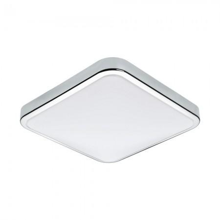 Aplique de Pared LED Eglo Manilva 1 Cromo Luz Cálida 16W