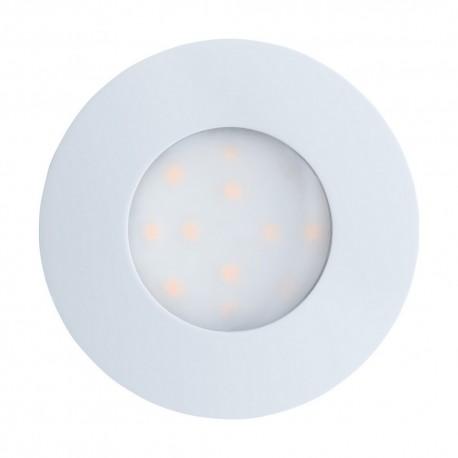 Lámpara Empotrable de Suelo Exterior LED Eglo Pineda-Ip Blanco Luz Cálida 6W