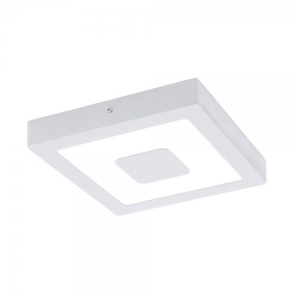 Lámpara de Exterior para Pared o Techo LED Eglo Iphias Blanco Luz Cálida 16W