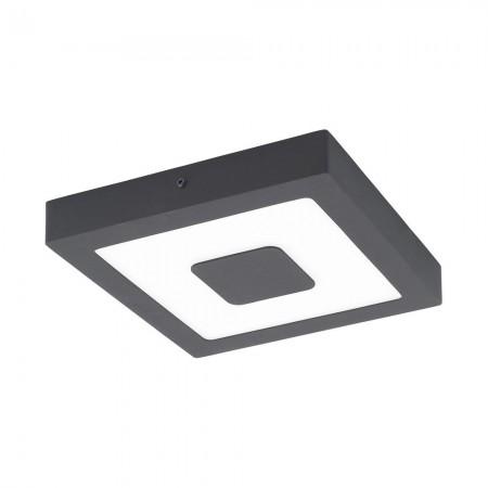 Lámpara de Exterior para Pared o Techo LED Eglo Iphias Antracita Luz Cálida 16W