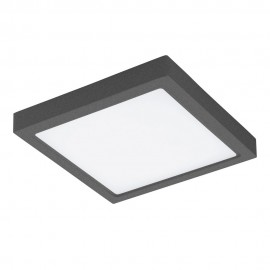 Lámpara de Exterior para Pared o Techo LED Eglo Argolis Antracita Luz Cálida 22W