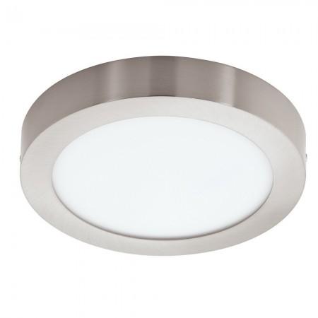 Downlight Superficie Eglo Connect LED Fueva-C Níquel Mate Luz Regulable 16W 22,5cm