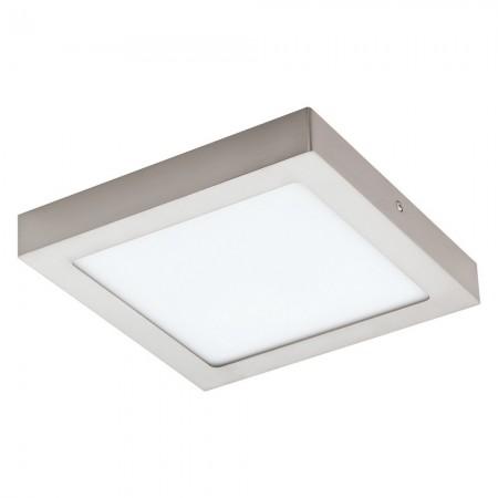 Downlight Superficie Eglo Connect LED Fueva-C Níquel Mate Luz Regulable 16W