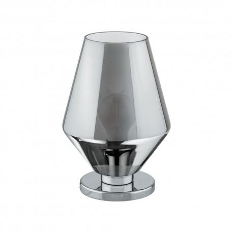 Lámpara de Sobremesa Eglo Murmillo Cromo 1 Bombilla E27