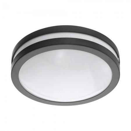 Lámpara de Exterior para Pared o Techo Eglo Connect LED Locana-C Antracita Luz Cálida 14W