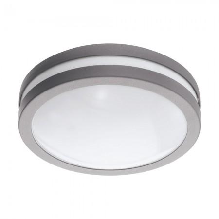 Lámpara de Exterior para Pared o Techo Eglo Connect LED Locana-C Plata Luz Cálida 14W