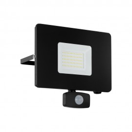 Proyector LED de Exterior Eglo Faedo 3 Negro Luz Blanca 50W 20cm