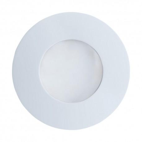 Lámpara Empotrable de Suelo Exterior Eglo Margo Blanco 1 Bombilla GU10