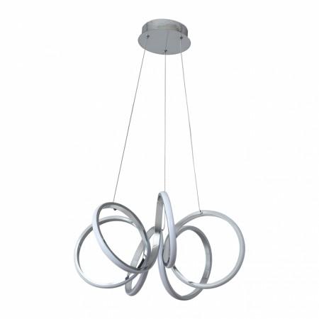 Lámpara Colgante LED Fabrilamp Dragón Cromo Luz Blanca 50W
