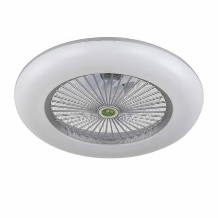 Ventilador de Techo Fabrilamp Raki Plata Regulable