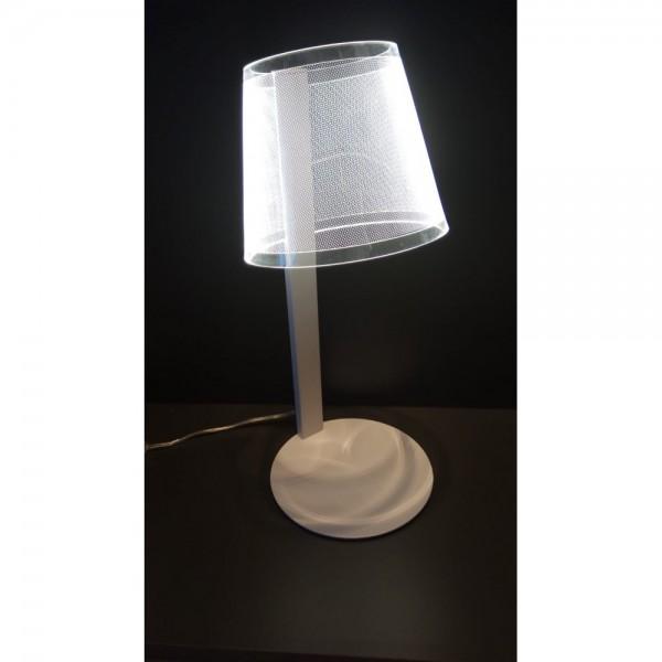 Lámpara de Sobremesa Acontract-Luz Bilbo Luz Cálida 3000K
