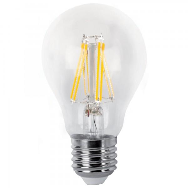 Bombilla LED Decorativa de Filamento 8W 2.700k Luz Calida E27