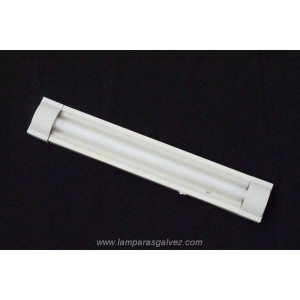 Fluorescente PVC blanco