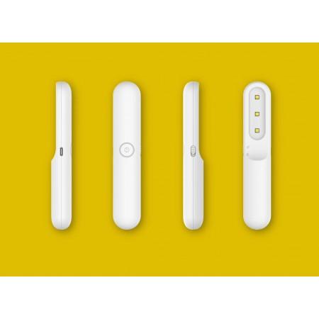 Lámpara Desinfección de mano UVC-4 Blanco Acontract-luz