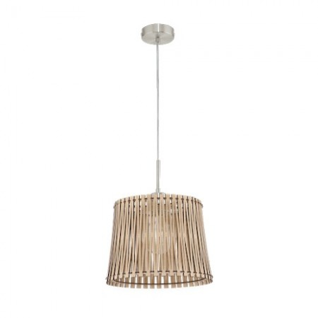 Lámpara Colgante Eglo Sendero Arce 1 Bombilla E27 30cm
