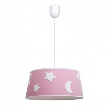Lámpara Infantil Firmamento Rosa 1 Luz