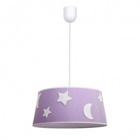 Lámpara Infantil Firmamento Lila 1 Luz