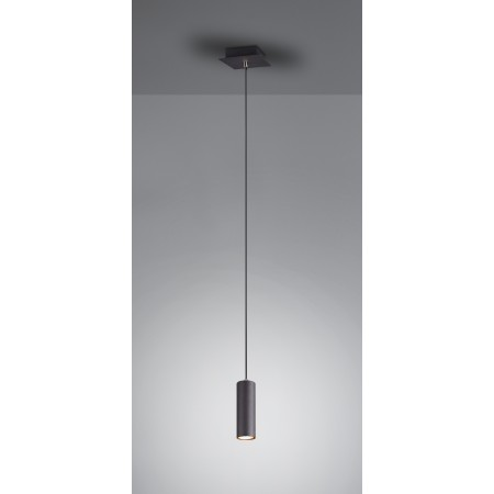 Lámpara Colgante Trio Marley Negro LED GU-0 S/B