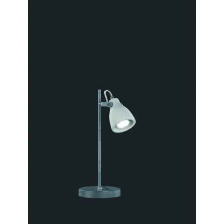 Lámpara de Sobremesa Trio Concrete Cemento 1xGU10 S/B