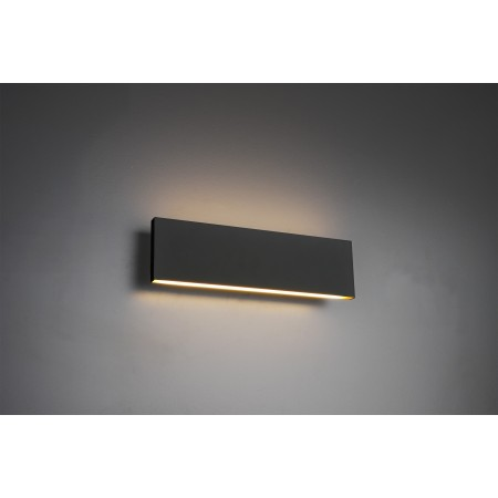 Aplique de Pared Trio Concha LED 2X6W Antracita