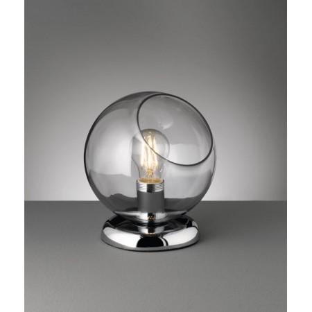 Lámpara de Sobremesa Trio Clooney Cromo