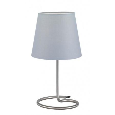 Lámpara de Sobremesa Trio Twin Gris 1 Bombilla E14 18cm
