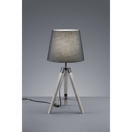 Lámpara de mesa Tripod gris