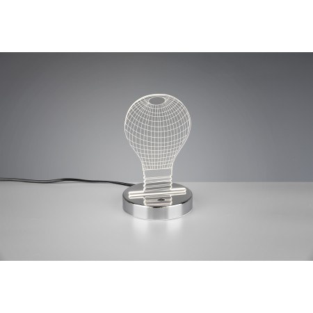 Lámpara de Sobremesa Trio Bombilla1xSMD LED