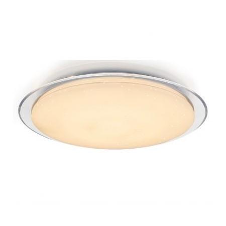 Plafón LED de Techo redondo efecto estrellas 55cm