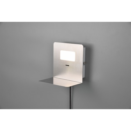 Aplique de Pared Trio Aloft LED-USB Niquel