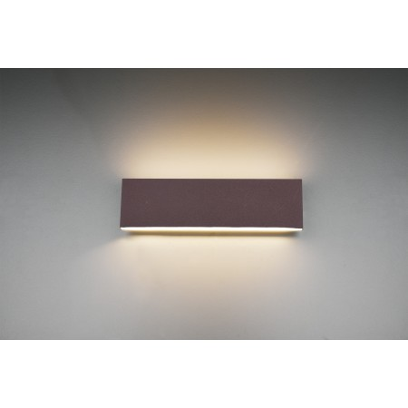 Aplique de Pared Trio Concha LED 2X6W Marrón