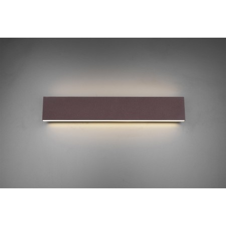 Aplique de Pared Trio Concha LED 2X9W Marrón