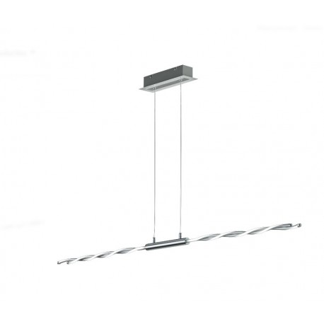 Lámpara Colgante Trio Portofino Cromo Regulable
