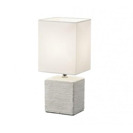 Lámpara de Sobremesa Trio Ping Blanco 1xE14