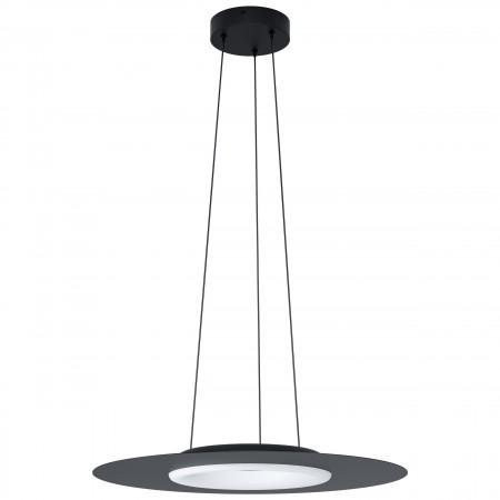 Lámpara Colgante Eglo Compo Rosso-Connect Negro