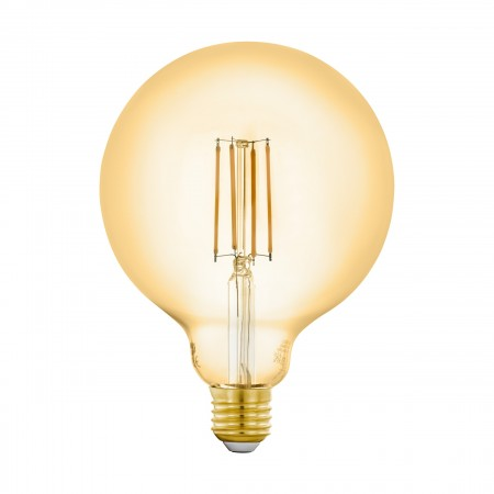 Bombilla E27 Globo LED Vintage Smart Wifi 6W 125mm