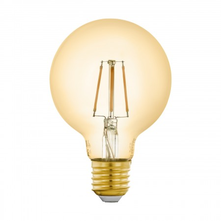 Bombilla E27 Globo LED Vintage Smart Wifi 5,5W 80mm